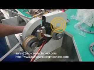 Semi auto Hairpin Taping Motor insulation machine