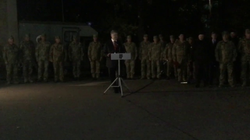 Зачем Порошенко посетил военный госпиталь в Мариуполе