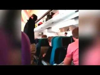 Последние минуты жизни пассажиров сделанное одним из пассажиров самалета 777