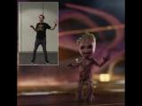 Джеймс Ганн и танец Малыша Грута 2