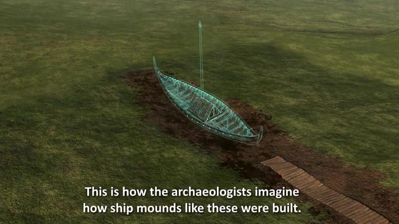 Погребальную ладью викингов нашли в Норвегии