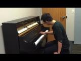 One Hand Piano - Crazy Frog _ Axel F (Tony Ann)