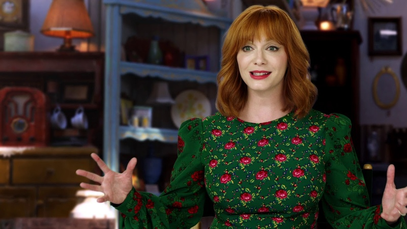 Toy Story 4: Christina Hendricks Gabby Gabby Behind the Scenes Movie Interview