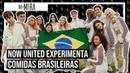Qual é a comida brasileira favorita do Now United? | Na Mira