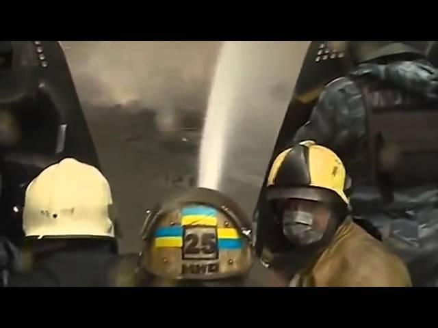 Клип в поддержку Беркута на песню Кино Группа крови