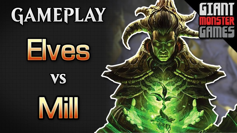 Elves -vs- Mill - New to Modern MTGO Gameplay 01