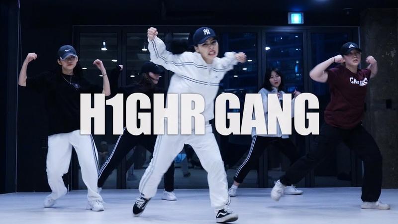 식케이(Sik-K) - h1ghr gang / Downy Choreography 홍대무브댄스학원