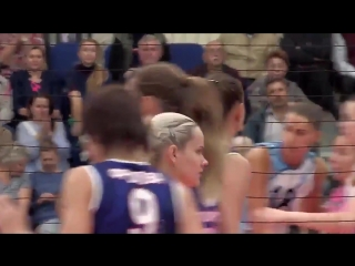 Rusakova - Unbelievable spike - Eneisey Kazan highlights