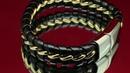 Браслет с магнитной застежкой Двойное плетение Gold Edition