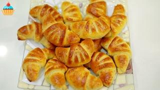 Десерты  •  СДОБНЫЕ ТВОРОЖНЫЕ РОГАЛИКИ С ДЖЕМОМ - ну, оОчень вкусные!