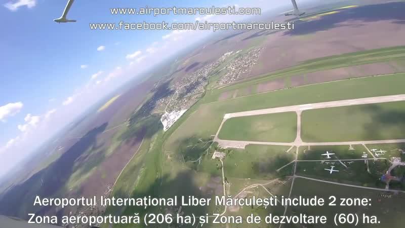 Aeroportul Internațional Mărculești, vedere panoramică de la inalțime (1)