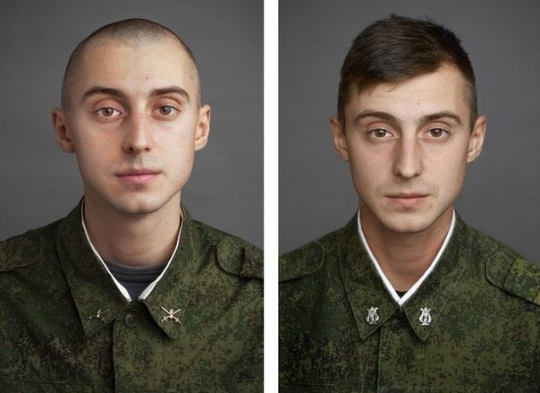 До и после армии Фотограф Юрий Чичков снял фотопроект с лицами парней в начале и примерно через год, в конце их службы в армии. О том как армия меняет людей не только внутренне, но и