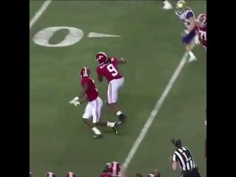 Bo Scarbrough 68 yard touchdown run vs Washington.