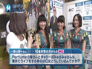 Perfume & Kyary Pamyu Pamyu - Mini Music Station (2014.07.11)