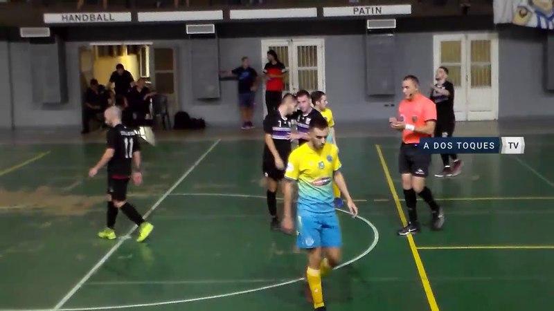 FutsalAFA - Resumen Centro Asturiano vs Estrella de Boedo - Fecha 6 - 2018