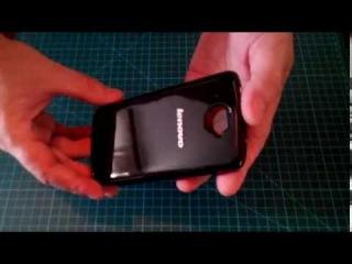 Видео обзор чехла Flip Cover для Lenovo S920