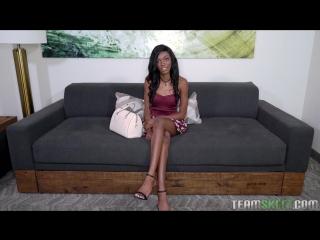Chanel Skye - Runway Ramming [Brunette, Ebony, Cum On Tits, Natural Tits, POV, Straight, Teen]