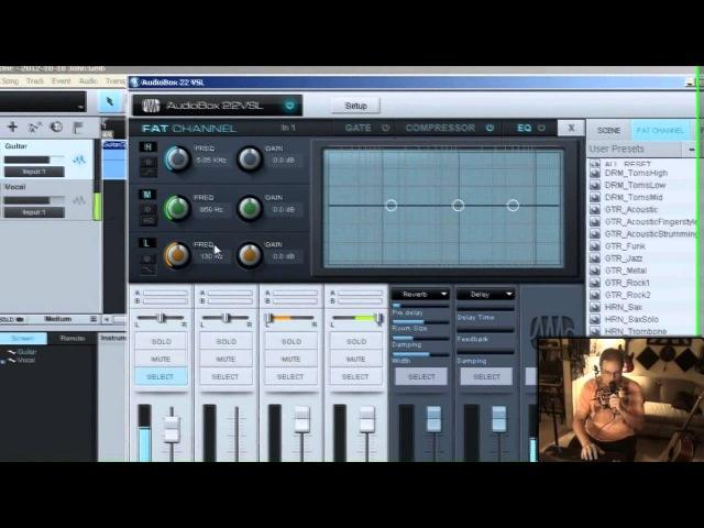 Studio One 2.0 - Audiobox 22vsl and zero latency with Studio One