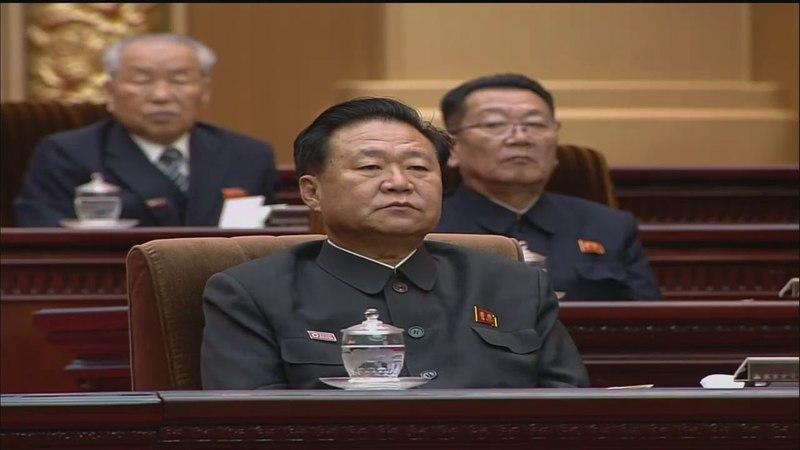Choson TV: 최고인민회의 제13기 제6차회의 진행[HD] [KOREAN]