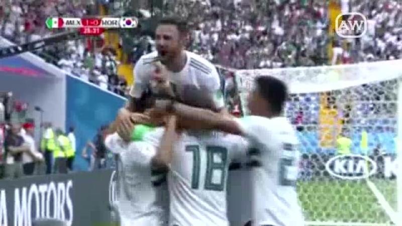 México 2-1 Corea Del Sur - Grupo F - Fecha 2 - Mundial 2018