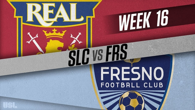 Real Monarchs SLC vs Fresno FC: June 26, 2018