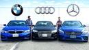 2019 BMW 3 Series vs Audi A4 vs Mercedes C-Class Battle Of Kings
