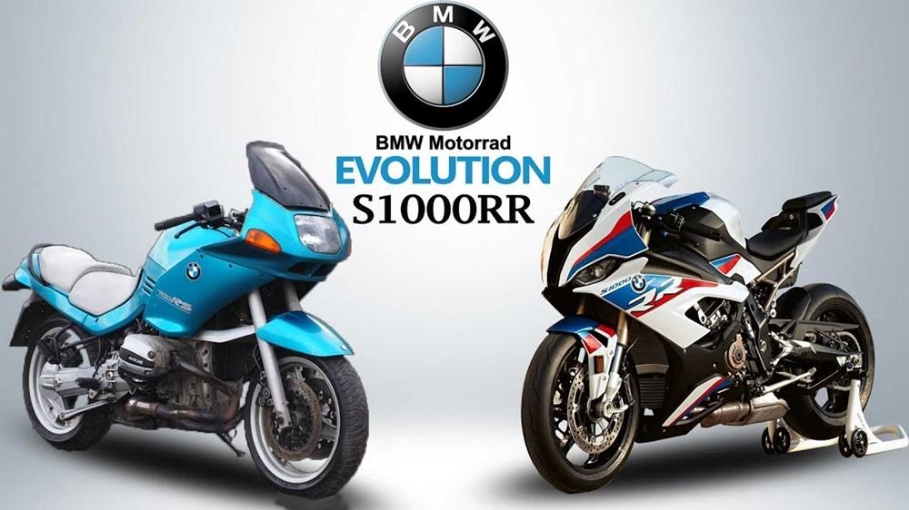 Эволюция супербайка BMW S1000RR (видео)