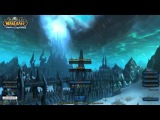 World of Warcraft Wrath of the Lich King login screen