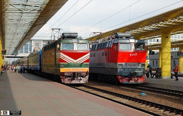 поезда №805 Минск—Вильнюс