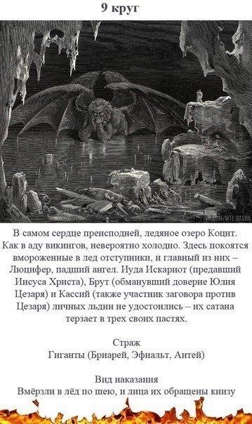 9 кругов ада по данте. репостни, пусть все знают, через что им предстоит пройти.