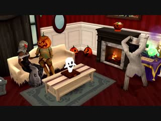 Celebrate in spooktacular style with the Halloween Haut!