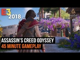 45 Minutes of Assassin's Creedy Odyssey Gameplay in 4K