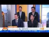 IL DIVO Interview Sydney 26-8-2018