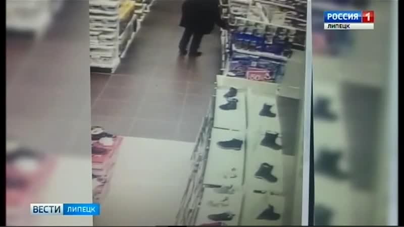 52 летний житель Подмосковья попался в Липецке на краже игрушек