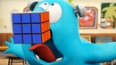 Funny Animated Cartoon   Spookiz   Frankie Swallowed A Rubik's Cube   스푸키즈   Cartoon For Children