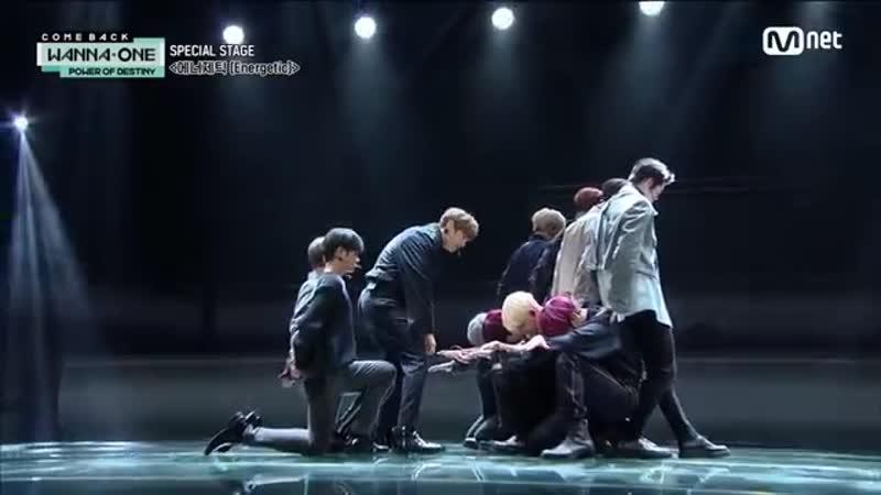 181122 Выступление Wanna One на камбэк шоу с '에너제틱 Energetic '