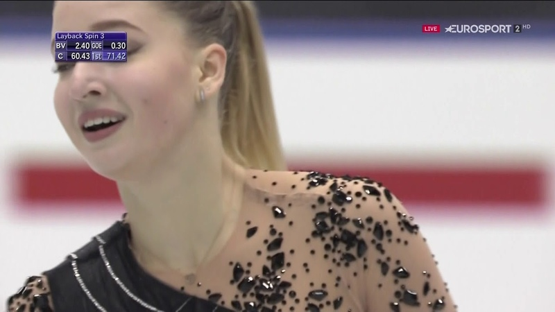 Мария Сотскова ПП NHK Trophy 2018