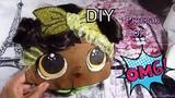 Рюкзак с куколкой ЛОЛ и волосами своими руками\Как сделать рюкзак с ЛОЛ