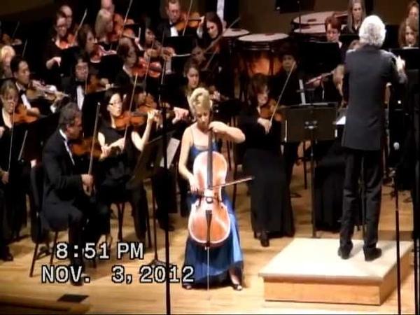 Tchaikovsky Rococo Variations Dace Sultanov, cello