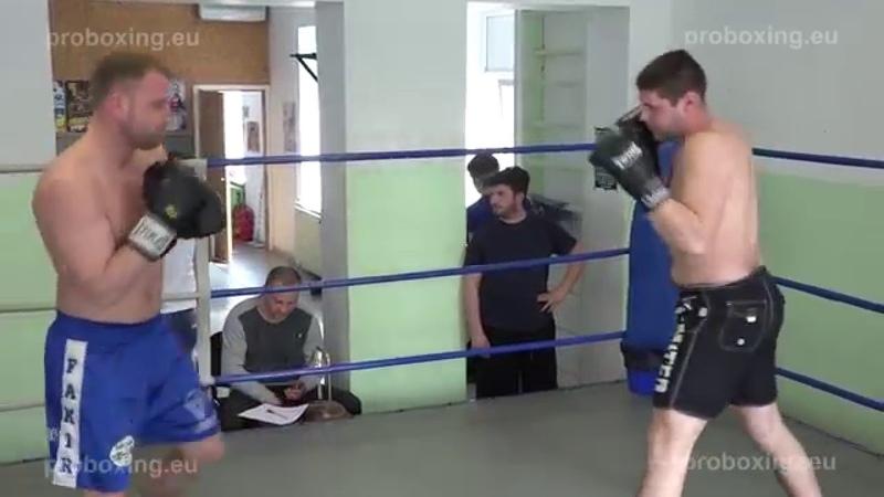 22.04.2015 Mārtiņš Kukulis vs Vadims Tihomirovs (Knock Out) proboxing.eu