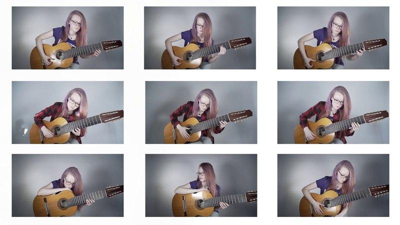 Vivaldi - Concerto Grosso in d minor on 9 guitars