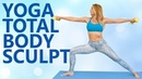 Yoga Sculpt with Becca   20 Minute Beginners Total Body Workout, Yoga Class at Home