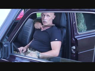 Самооборона в автомобиле. нож сзади