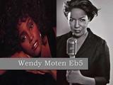 Whitney Houston vs Wendy Moten Studio Vocal Range (Note by Note)