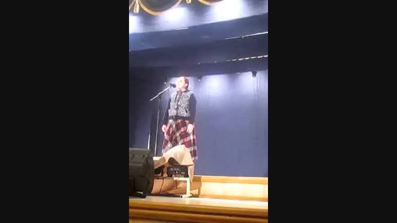 Песня Соловей в исполнении Ксении Соловьевой из Острогожска
