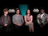 Excl_ MAZE RUNNER 3 Interview Dylan OBien, Kaya Scodelario, Thomas Brodie-Sangs