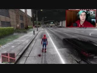 GTA V моды: спайдермен GTA 5 !! - RobleisIUTU