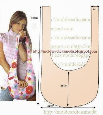 Шьем летнюю сумку украшенную