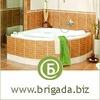 Бригада - ремонт ванной комнаты своими руками