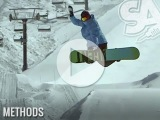 How to Method Grab on a snowboard - Snowboard Addiction - Goofy Riders